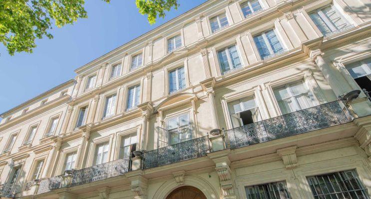 Nîmes : programme immobilier à rénover « La Demeure du Bâtonnier » en Déficit Foncier