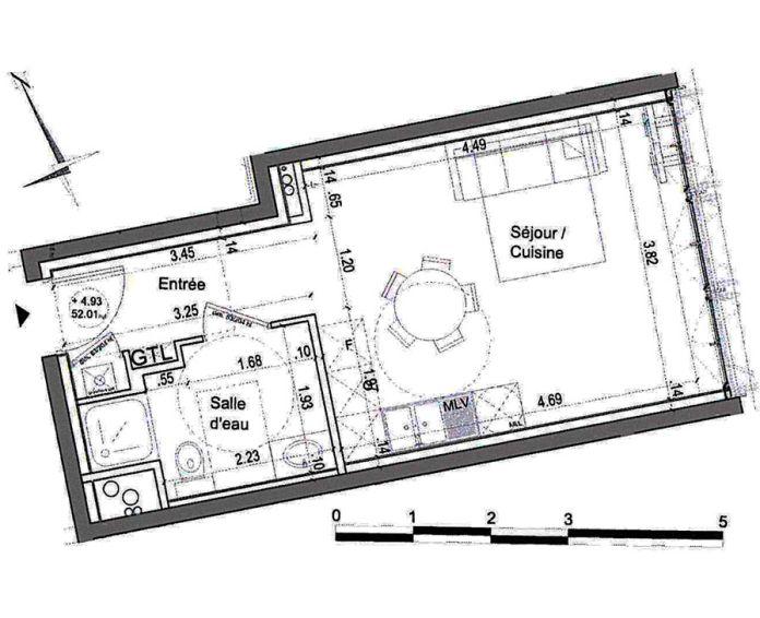 Plan T1 neuf à Nîmes de