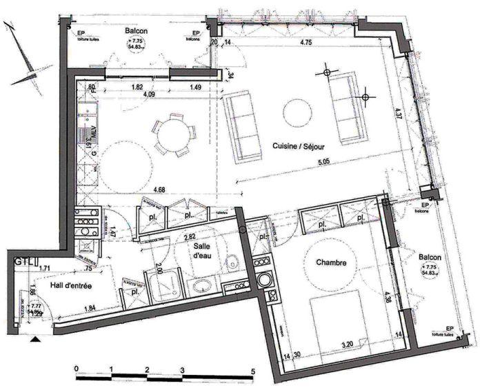 Plan T2 neuf à Nîmes de