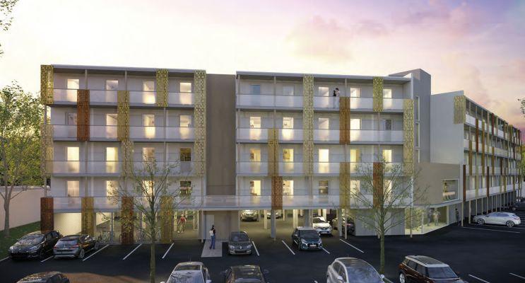 Photo du Résidence « L'Amphi » programme immobilier neuf à Nîmes