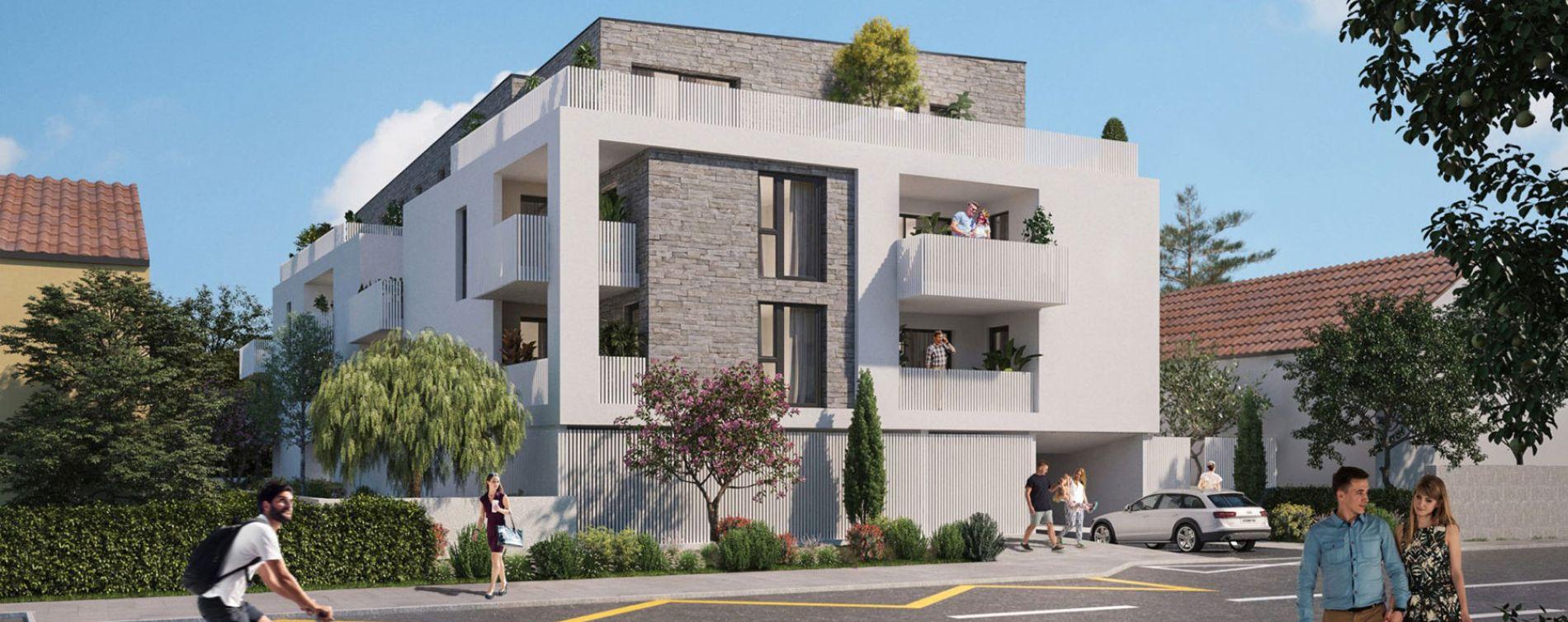 Nîmes : programme immobilier neuve « Le Carré des Amoureux » en Loi Pinel