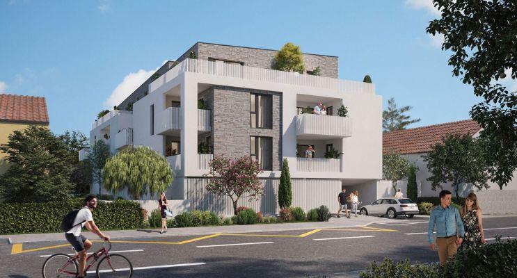 Nîmes : programme immobilier neuf « Le Carré des Amoureux » en Loi Pinel