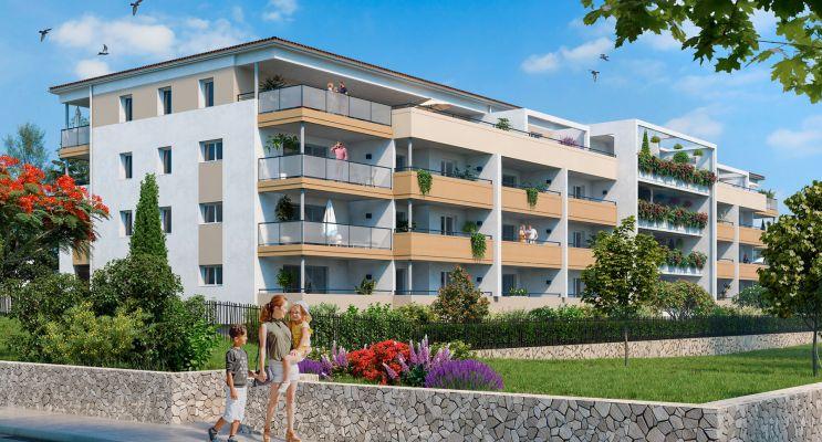 Photo n°2 du Résidence « Les Hauts De Védelin » programme immobilier neuf en Loi Pinel à Nîmes