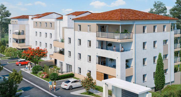 Photo n°3 du Résidence « Les Hauts De Védelin » programme immobilier neuf en Loi Pinel à Nîmes