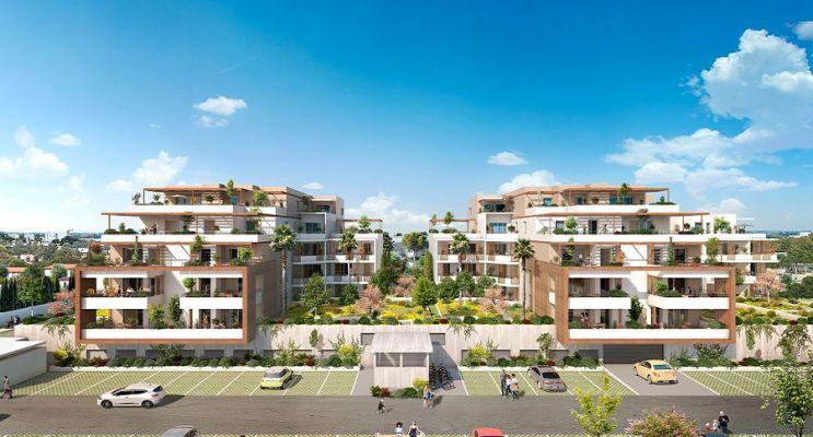 Photo n°1 du Résidence « Les Jardins De La Moneda » programme immobilier neuf en Loi Pinel à Nîmes