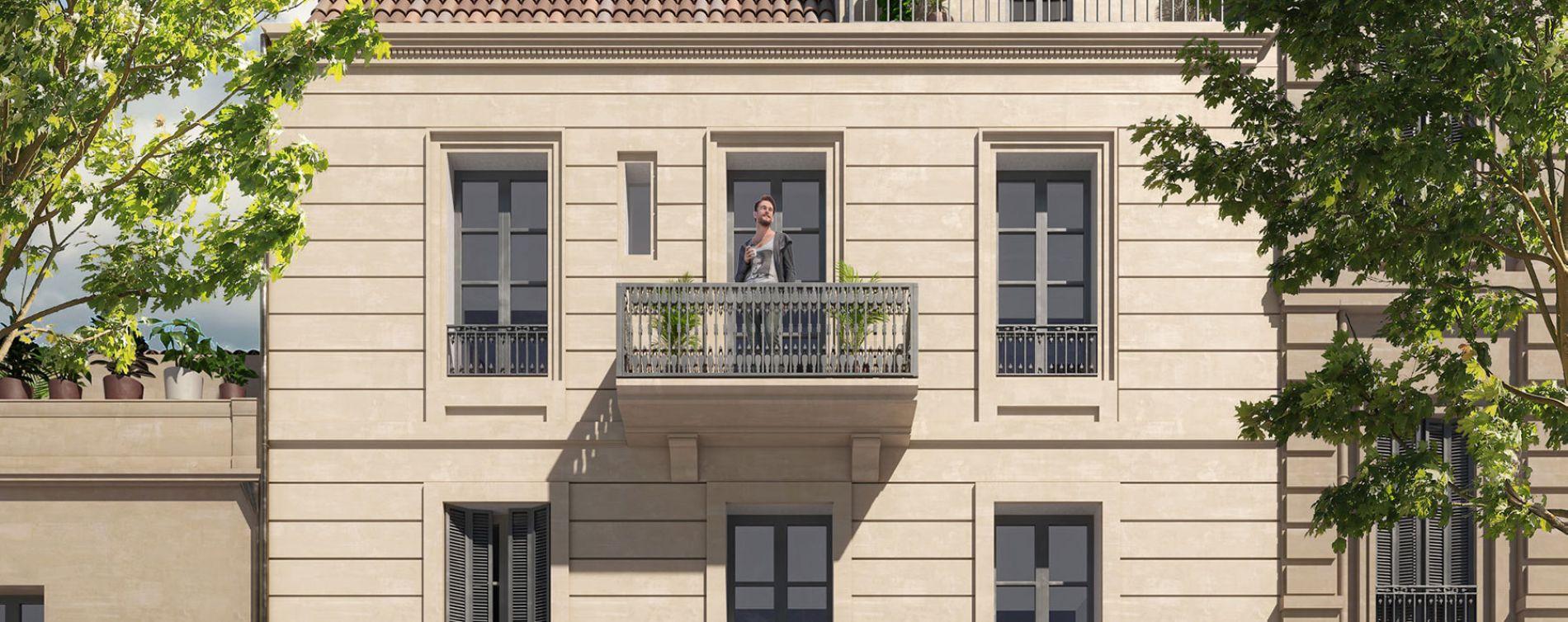 Nîmes : programme immobilier à rénover « Place Duguesclin » en Déficit Foncier (2)
