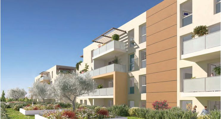 Photo du Résidence « Rythmic » programme immobilier neuf en Loi Pinel à Nîmes