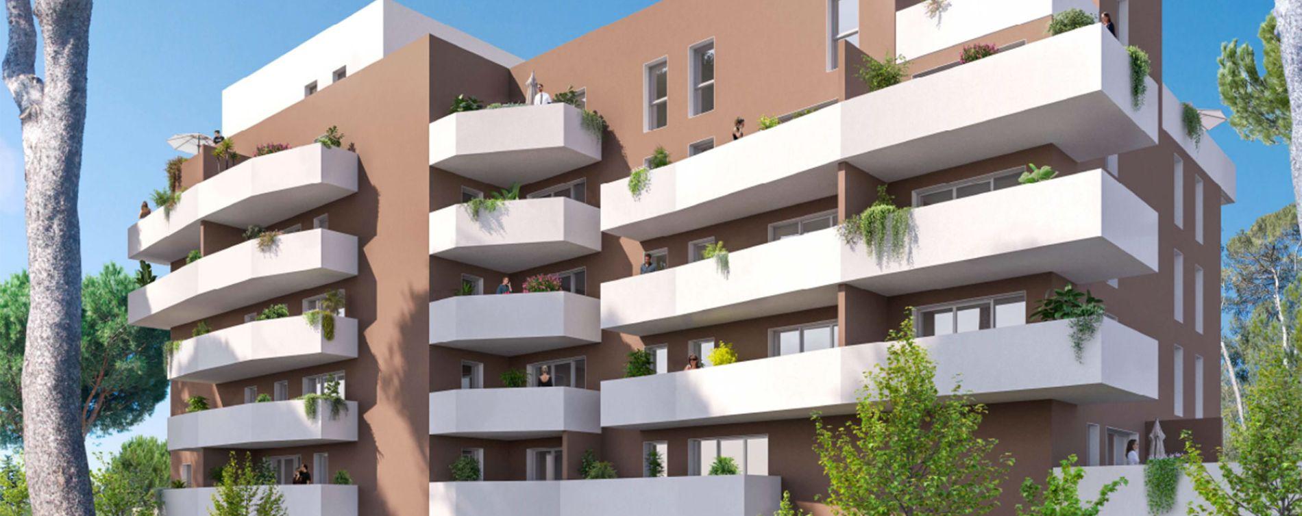 Nîmes : programme immobilier neuve « Villa Esmée » en Loi Pinel