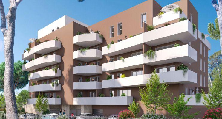 Nîmes : programme immobilier neuf « Villa Esmée » en Loi Pinel