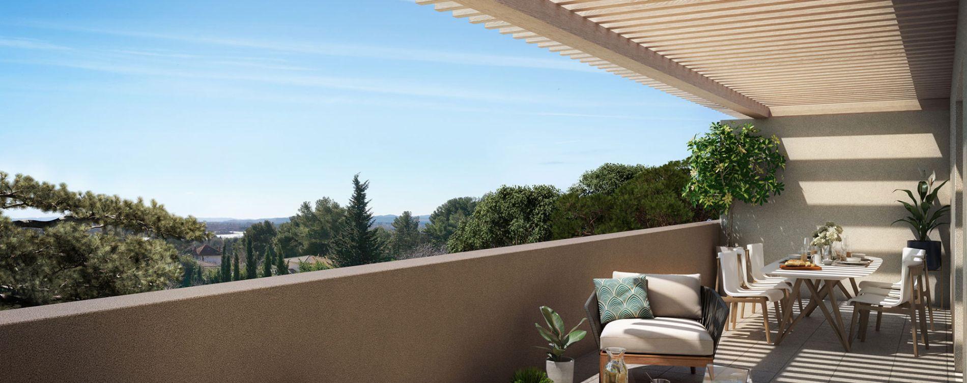 Villeneuve-lès-Avignon : programme immobilier neuve « Domaine des Grands Pins » en Loi Pinel