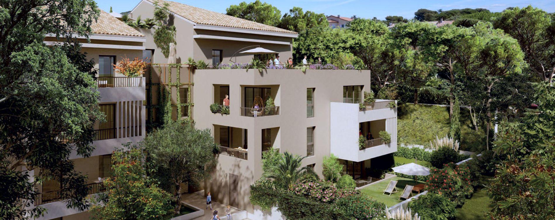 Villeneuve-lès-Avignon : programme immobilier neuve « Nouvelle Perspective » en Loi Pinel