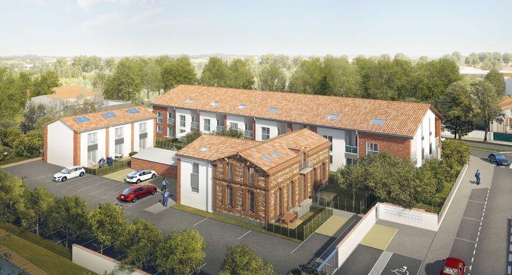 Photo du Résidence « Le Trèfle » programme immobilier neuf en Loi Pinel à Aucamville