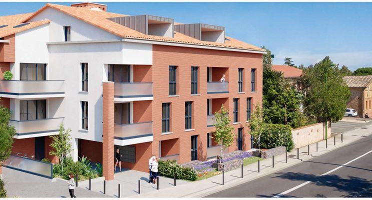 Résidence « Esprit D'Ouvertures » programme immobilier neuf en Loi Pinel à Aussonne