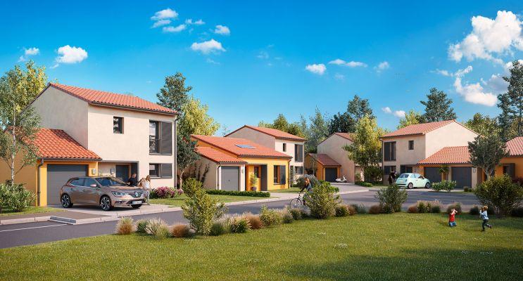 Photo du Résidence « Le Jardin de la Plaine » programme immobilier neuf à Ayguesvives