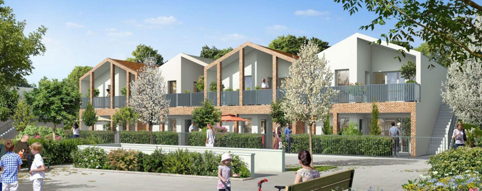 Balma : programme immobilier neuve « Murmures »