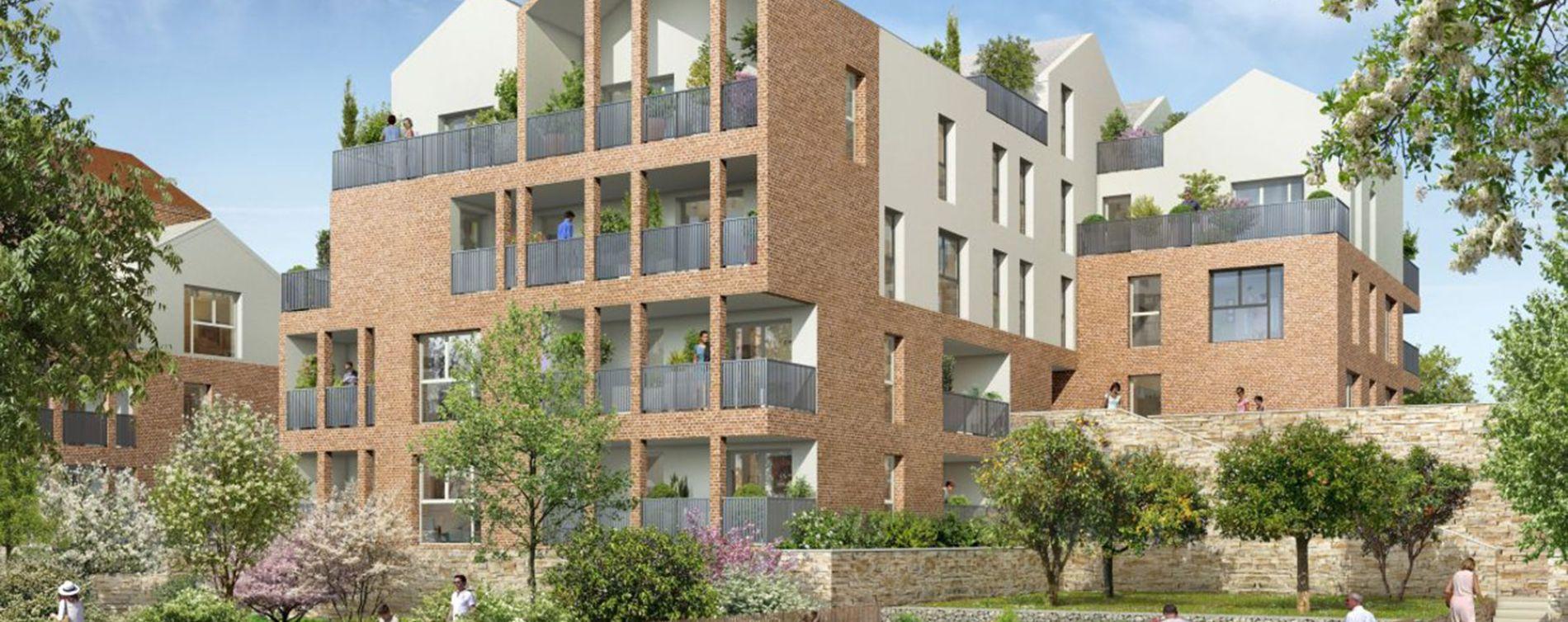 Balma : programme immobilier neuve « Murmures » (2)