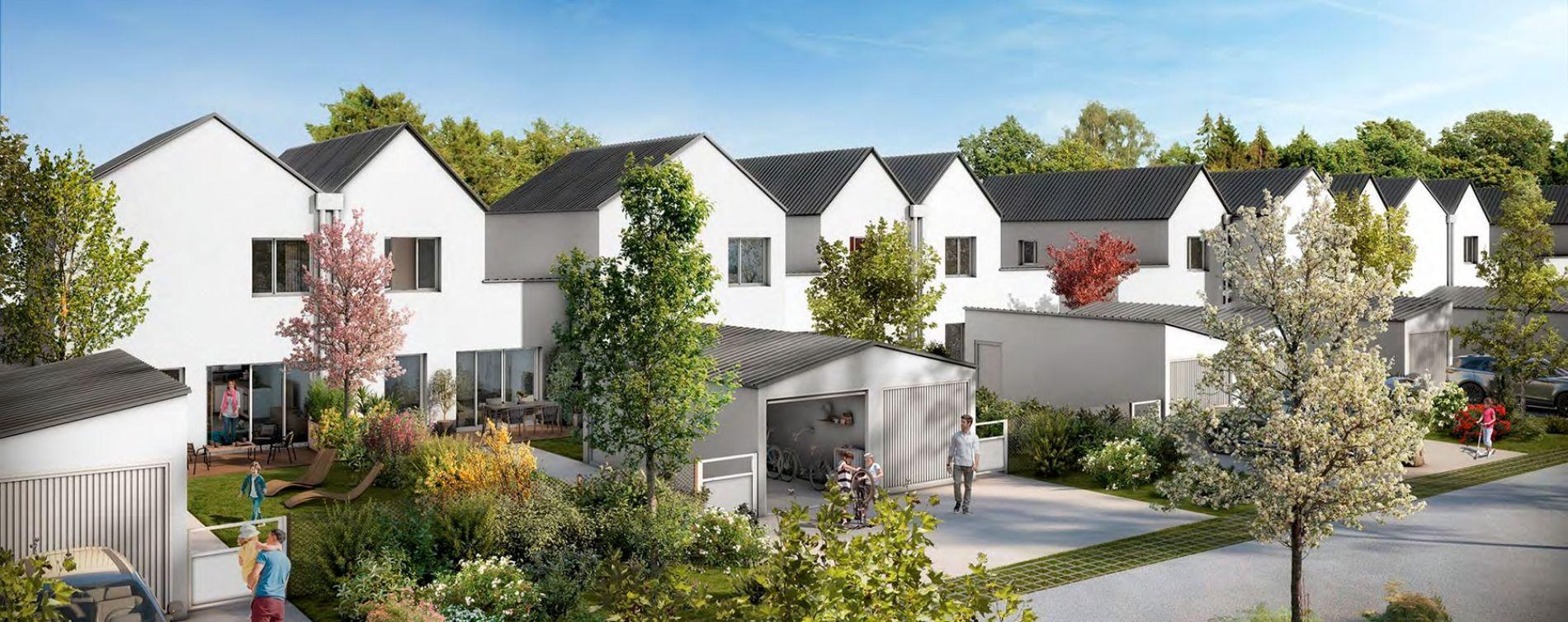 Beauzelle : programme immobilier neuve « Garden Street » en Loi Pinel