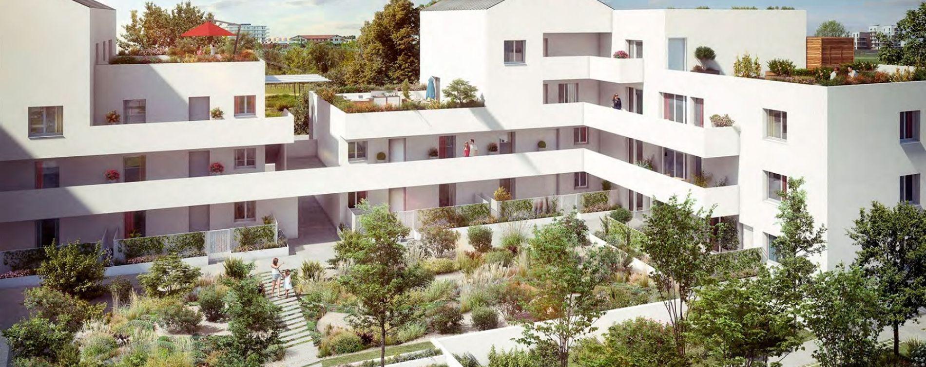 Beauzelle : programme immobilier neuve « Garden Street » en Loi Pinel (2)