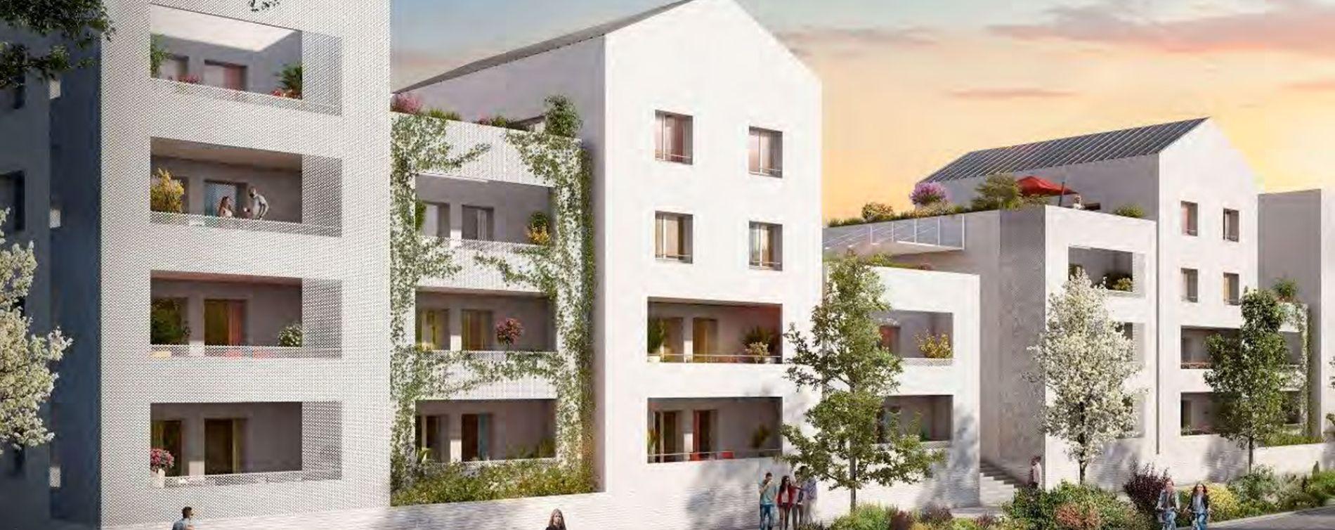 Beauzelle : programme immobilier neuve « Garden Street » en Loi Pinel (4)