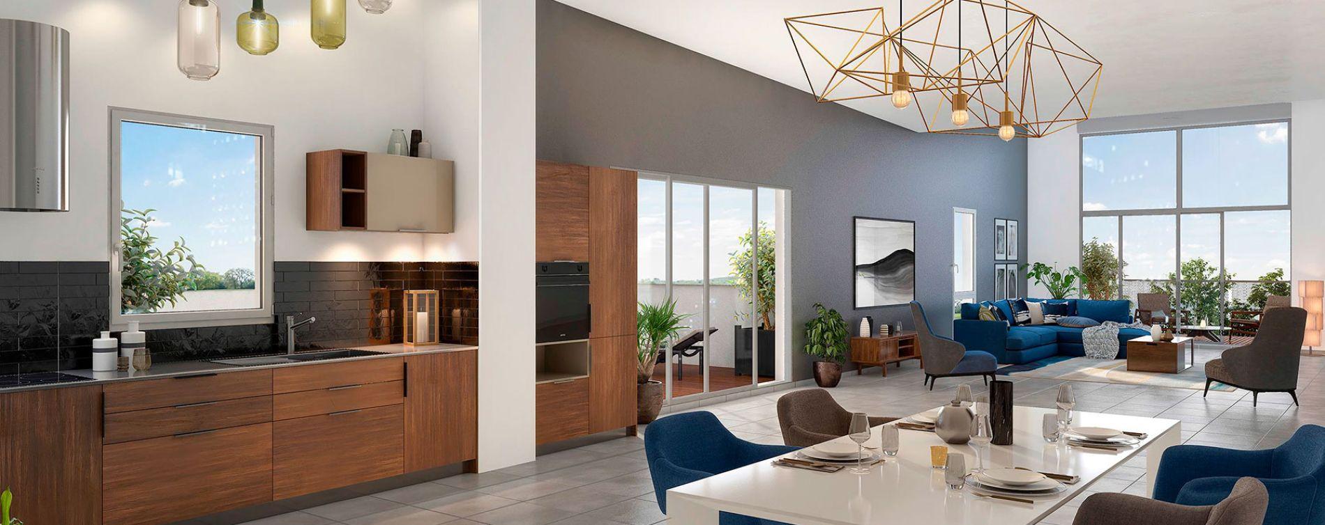 Beauzelle : programme immobilier neuve « Le B47 » en Loi Pinel (5)