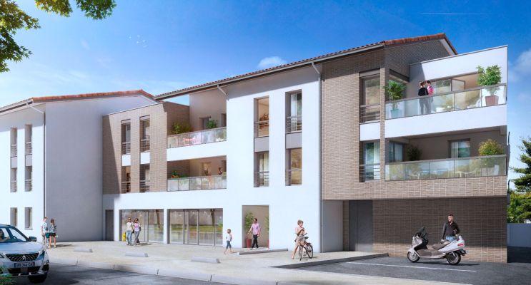 Résidence « Le Square » programme immobilier neuf en Loi Pinel à Beauzelle n°1