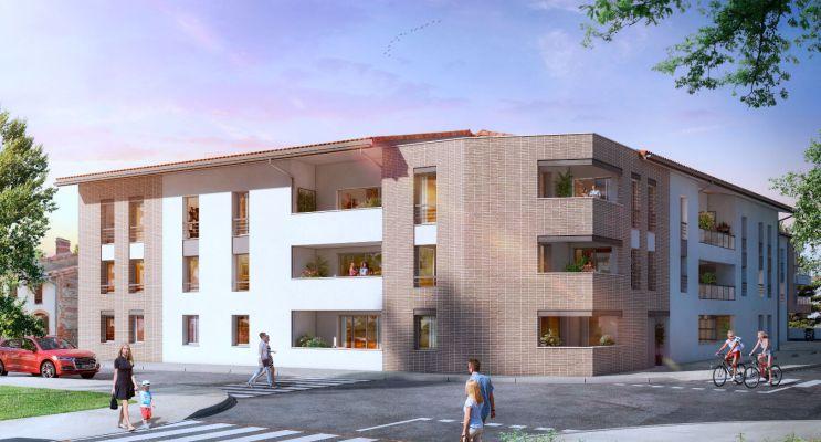 Résidence « Le Square » programme immobilier neuf en Loi Pinel à Beauzelle n°2