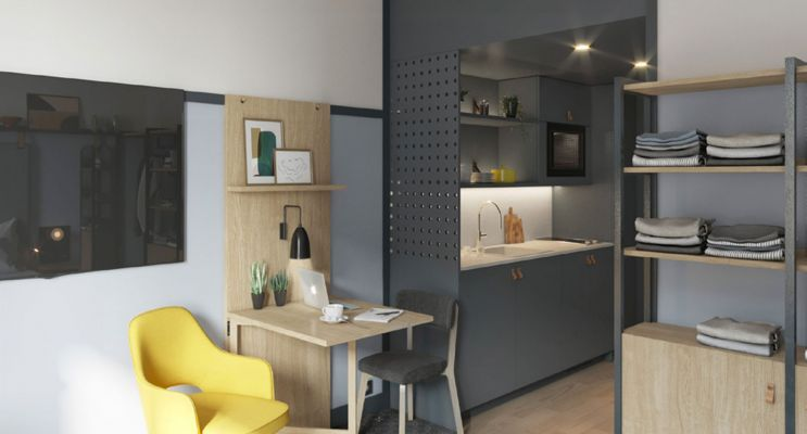 Photo n°2 du Résidence « Le Lift » programme immobilier neuf à Blagnac