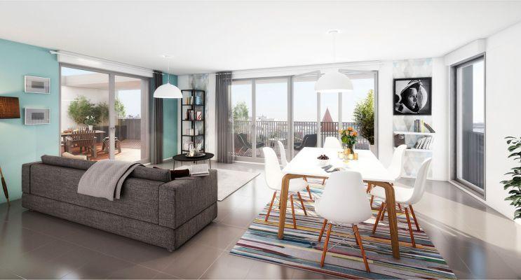 Résidence « View Park » programme immobilier neuf en Loi Pinel à Blagnac n°3