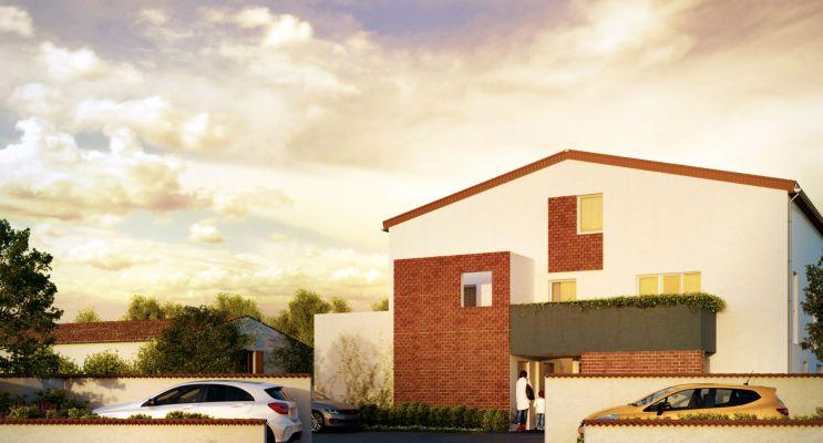 Blagnac : programme immobilier neuf « Villa Carrière » en Loi Pinel