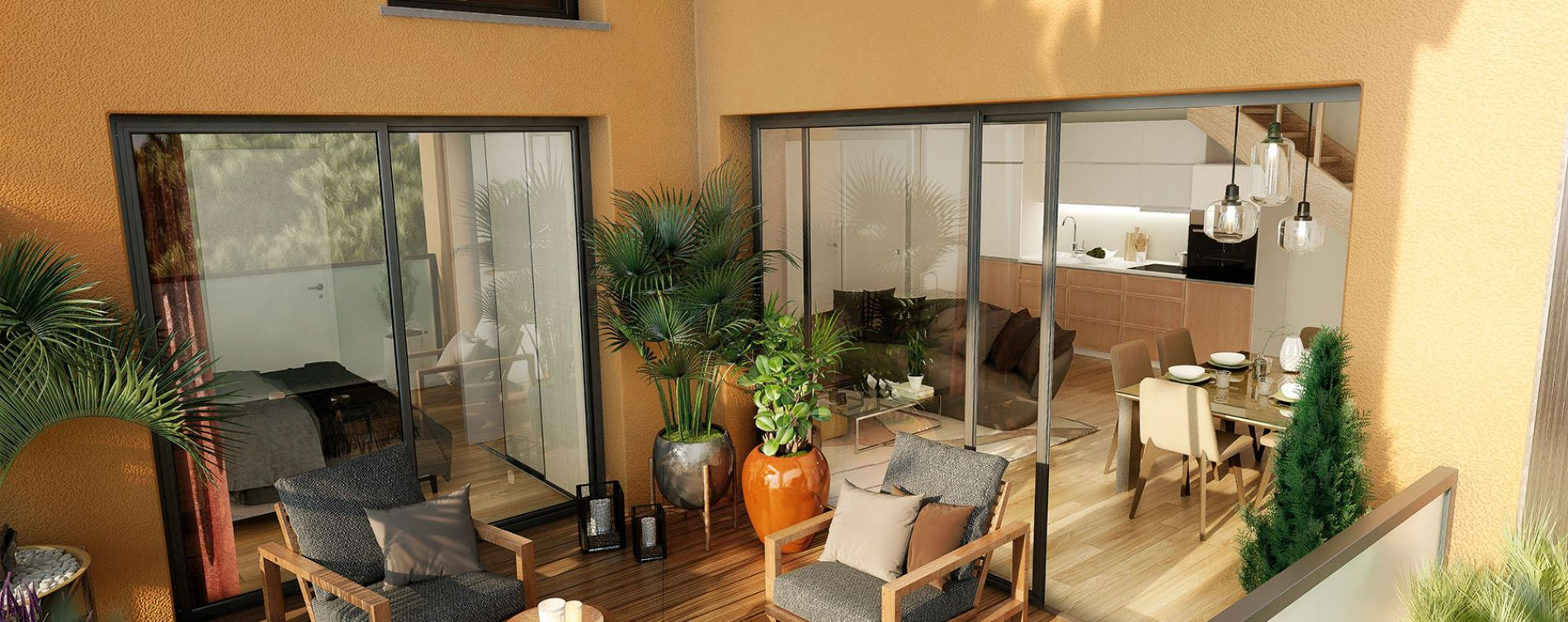 Blagnac : programme immobilier neuve « Villa Palacio » en Loi Pinel (3)