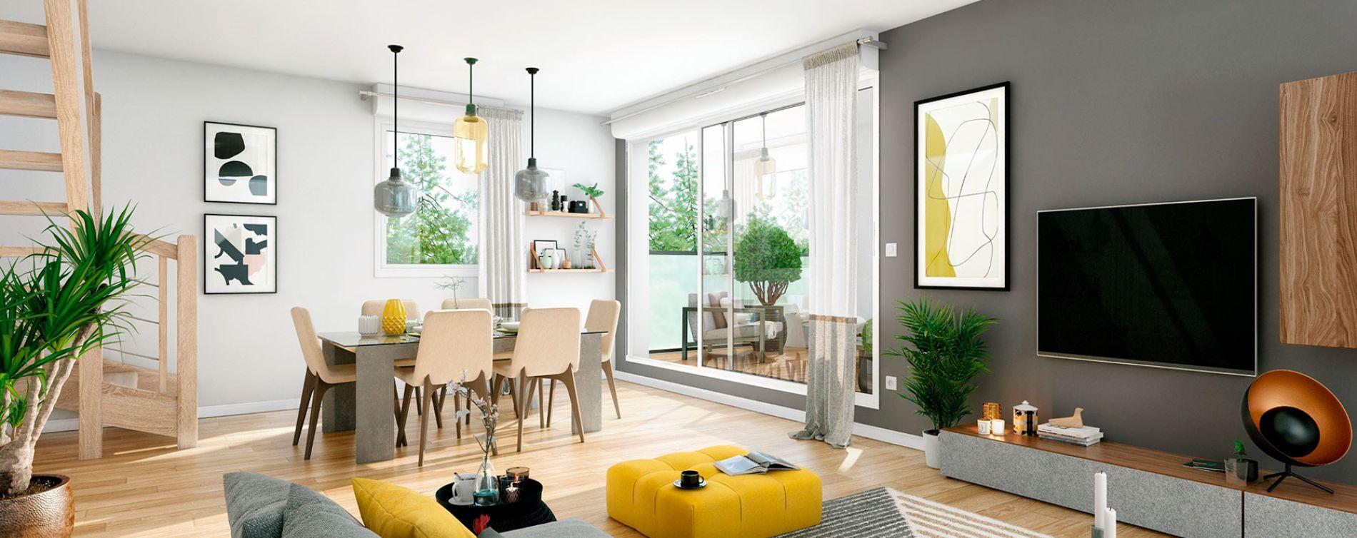 Blagnac : programme immobilier neuve « Villa Palacio » en Loi Pinel (4)