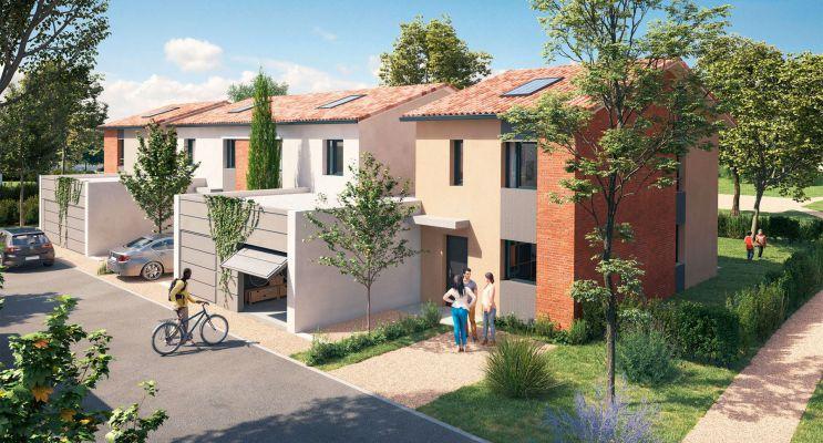 Résidence « Domaine Villas Rosa » programme immobilier neuf en Loi Pinel à Brax n°2