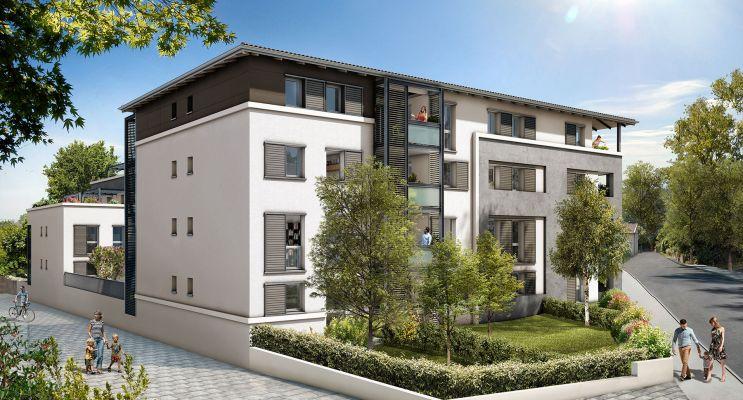 Résidence « Casta Nova » programme immobilier neuf en Loi Pinel à Castanet-Tolosan n°2