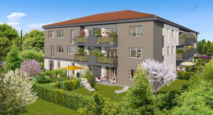 Résidence « City'Life » programme immobilier neuf en Loi Pinel à Castanet-Tolosan n°1
