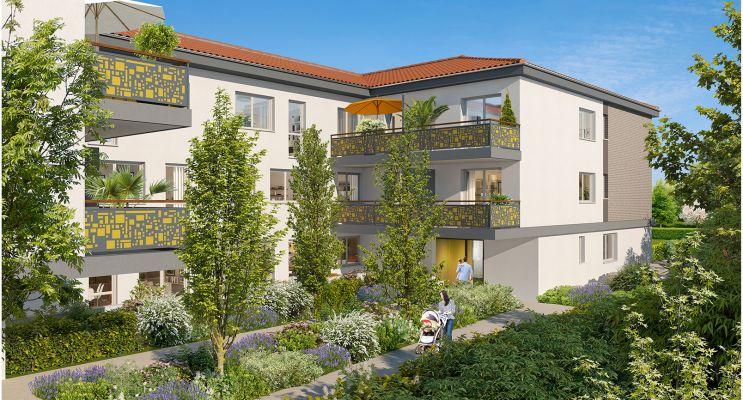Résidence « City'Life » programme immobilier neuf en Loi Pinel à Castanet-Tolosan n°2