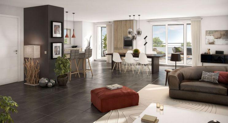 Résidence « Coeur De Ville Castanet » programme immobilier neuf en Loi Pinel à Castanet-Tolosan n°4