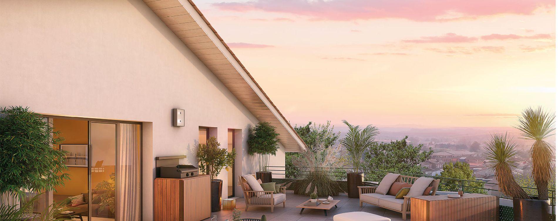 Castanet-Tolosan : programme immobilier neuve « Delta » en Loi Pinel