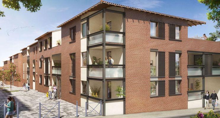 Résidence « L'A Cappella » programme immobilier neuf en Loi Pinel à Castanet-Tolosan n°1