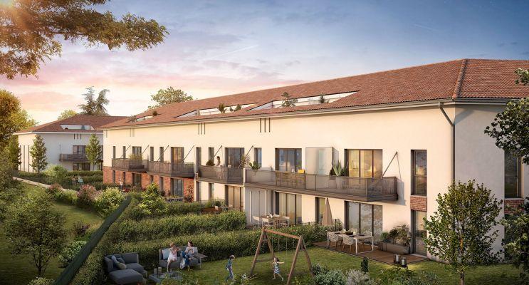 Photo n°2 du Résidence « Le Millésime » programme immobilier neuf en Loi Pinel à Castanet-Tolosan
