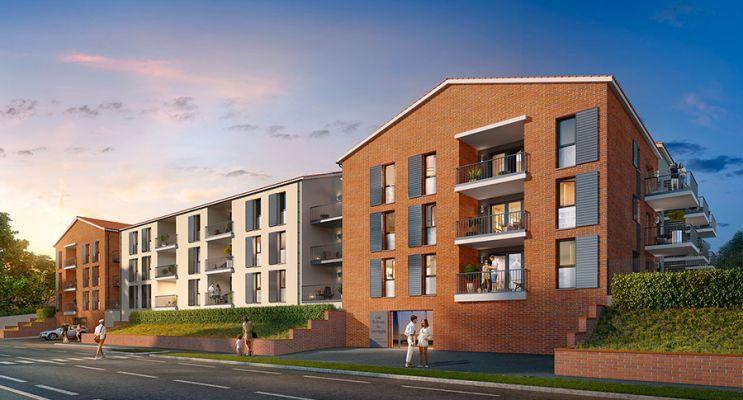 Photo du Résidence « Les Collines du Lauragais » programme immobilier neuf à Castanet-Tolosan
