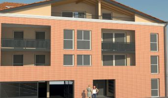 Castanet-Tolosan programme immobilier neuve « O Coeur de Ville » en Loi Pinel