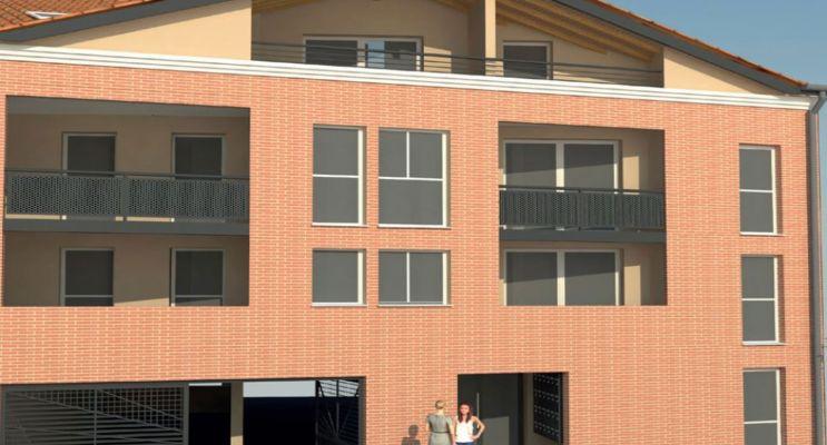 Photo du Résidence « O Coeur de Ville » programme immobilier neuf en Loi Pinel à Castanet-Tolosan