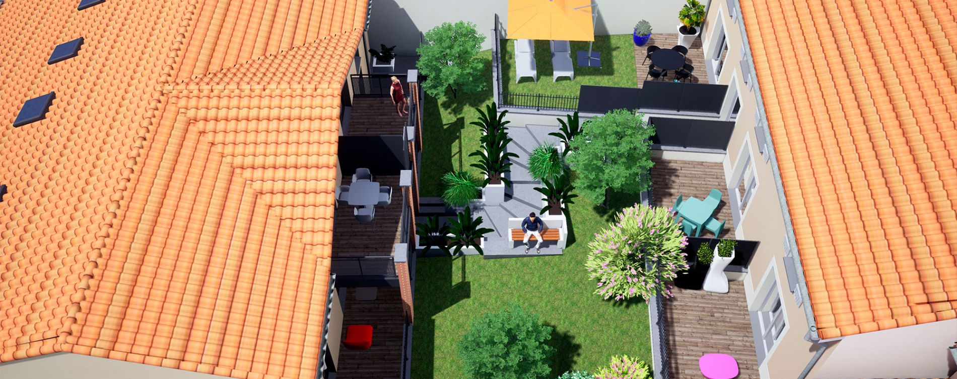 Résidence Ô Coeur de Ville à Castanet-Tolosan