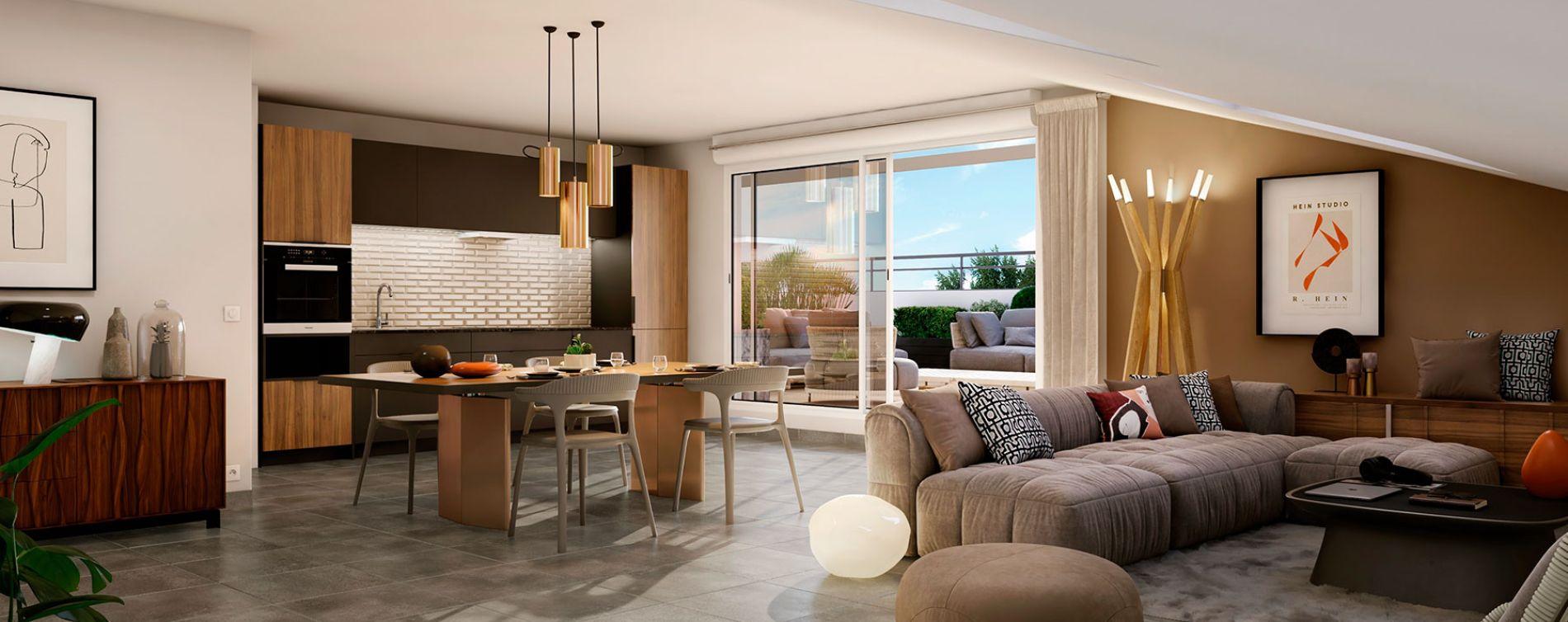 Castanet-Tolosan : programme immobilier neuve « Patio 47 » en Loi Pinel (3)