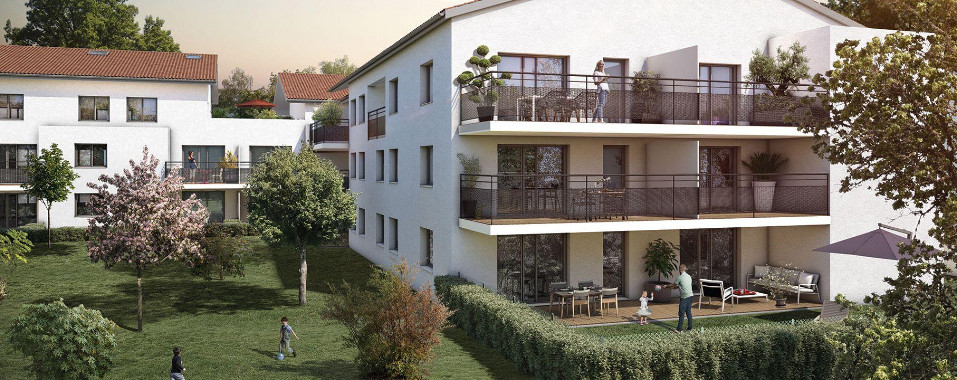 Castanet-Tolosan : programme immobilier neuve « Patio Castanet » en Loi Pinel
