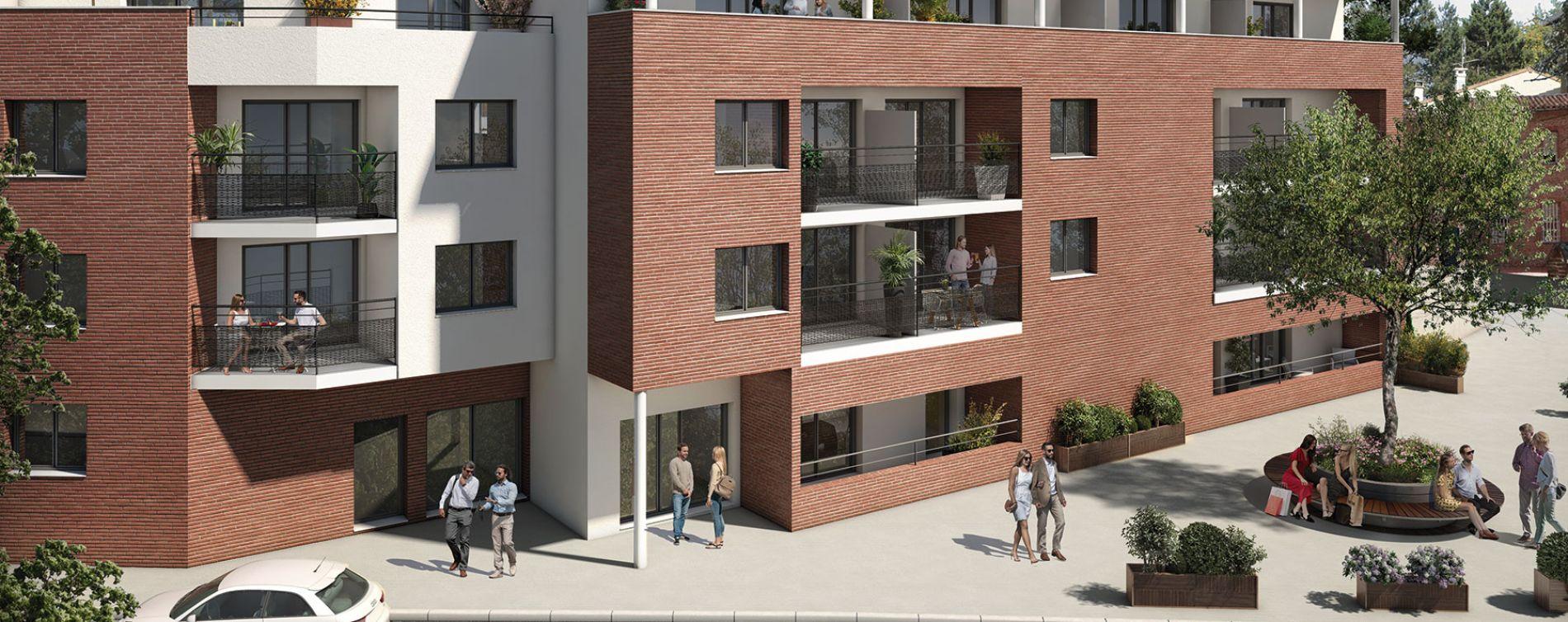 Castanet-Tolosan : programme immobilier neuve « Patio Castanet » en Loi Pinel (2)