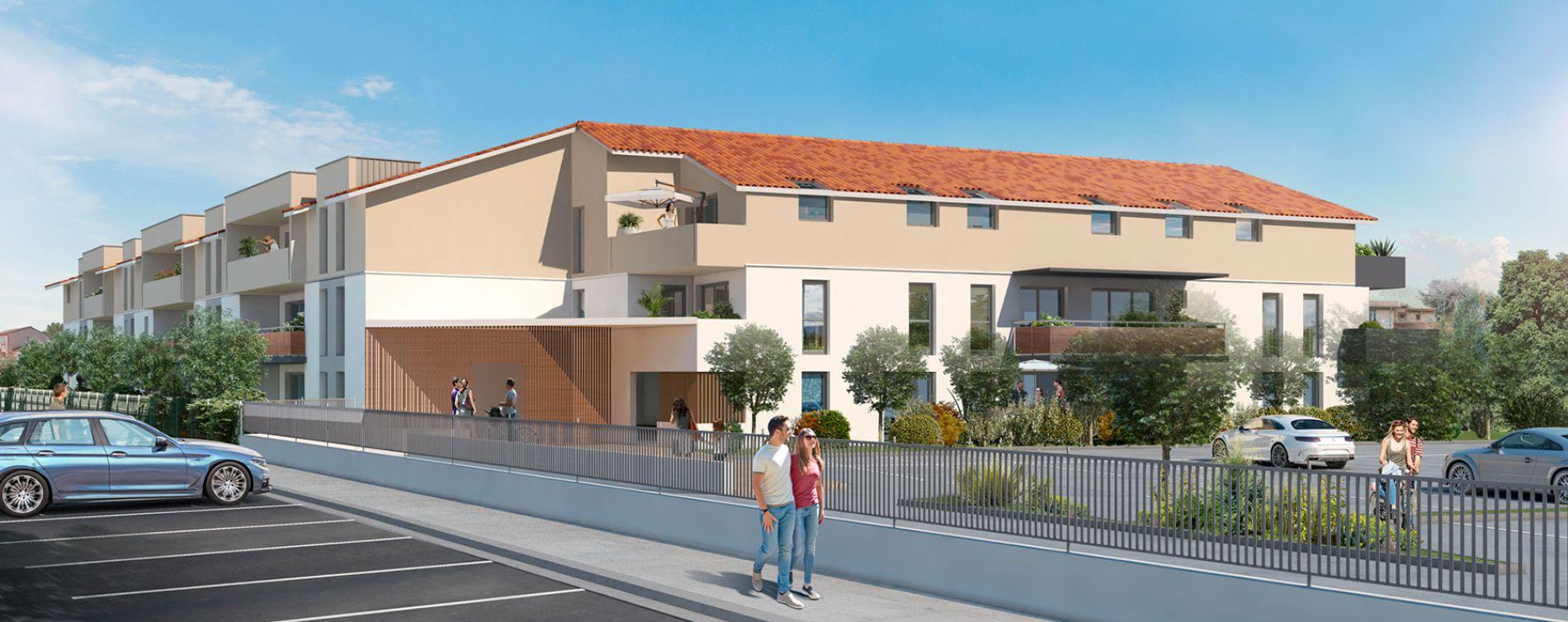 Résidence New Castel à Castelginest