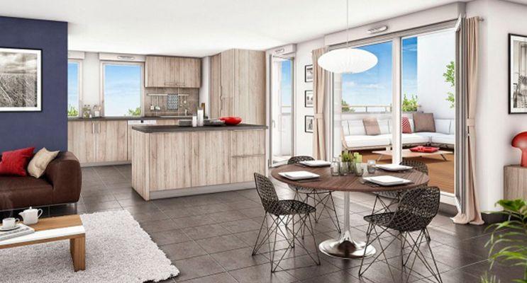 Résidence « Les Essentielles Bâtiments 3 & 4 » programme immobilier neuf en Loi Pinel à Colomiers n°4