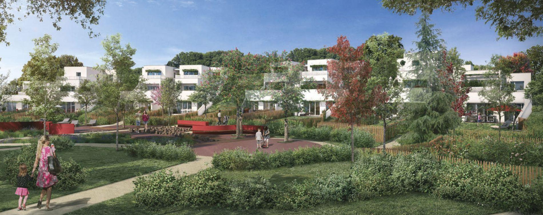 Colomiers : programme immobilier neuve « Respiration » en Loi Pinel (3)