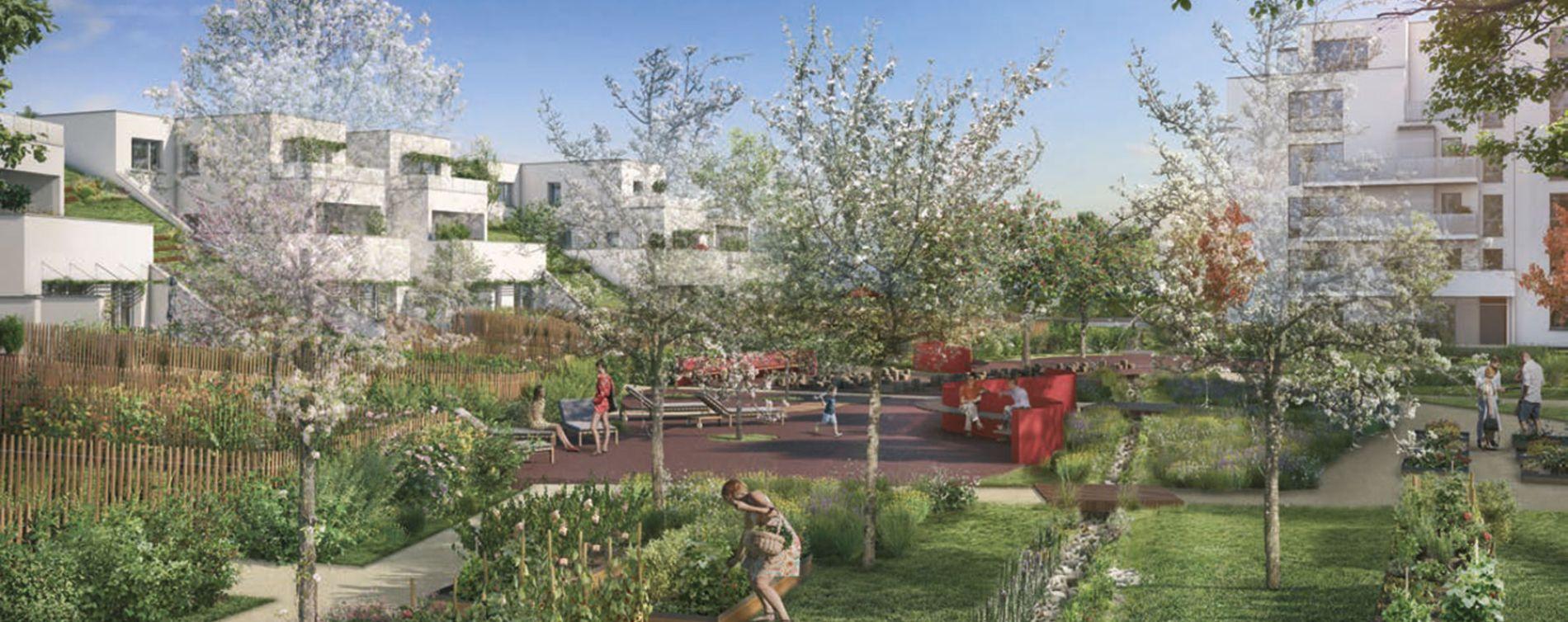 Colomiers : programme immobilier neuve « Respiration » en Loi Pinel (4)